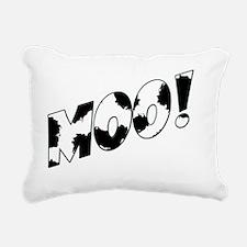 Moo! Rectangular Canvas Pillow