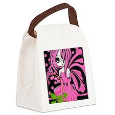 Bleeding Heart Fae Kindle Sleeve  Canvas Lunch Bag
