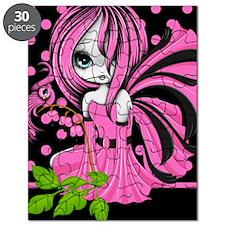 Bleeding Heart Fae Kindle Sleeve Pink Puzzle
