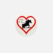 Heart_jump_trans Mini Button