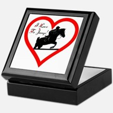 Heart_jump_trans Keepsake Box