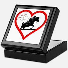 Heart_jump_trans Keepsake Box