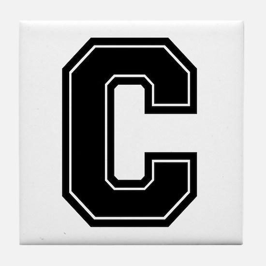 C Tile Coaster