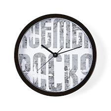 RoemerRocks1Bk Wall Clock