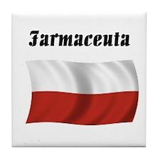 Pharmacist (Poland) Tile Coaster