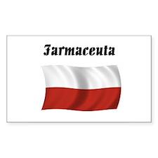 Pharmacist (Poland) Rectangle Decal