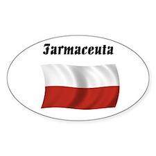Pharmacist (Poland) Oval Decal