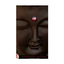Buddha with MG logo Decal