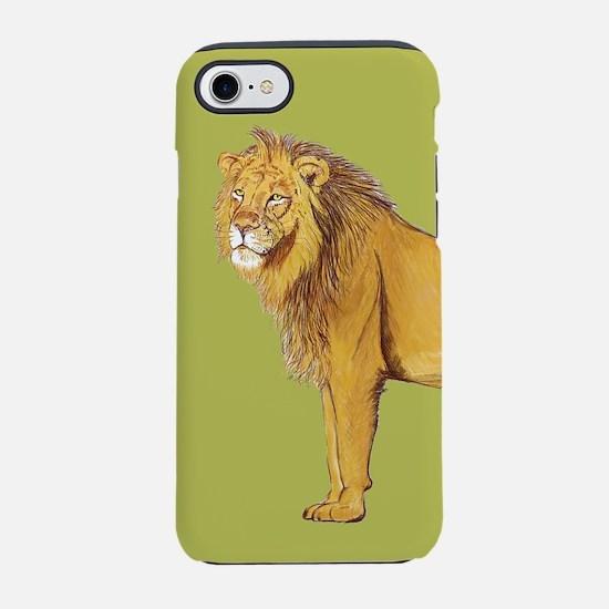 Lion green iPhone 7 Tough Case