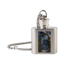 bu_2_iphone_3g_case Flask Necklace