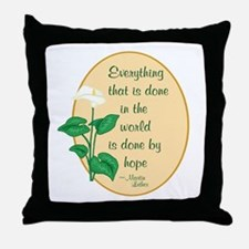 Martin Luther Throw Pillow