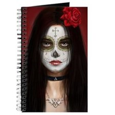 pretty vacant dia de muertos Journal