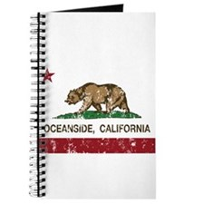california flag oceanside distressed Journal