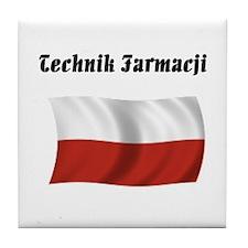 Pharmacy Technician (Poland) Tile Coaster