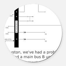 a13_smbus-apparel Round Car Magnet