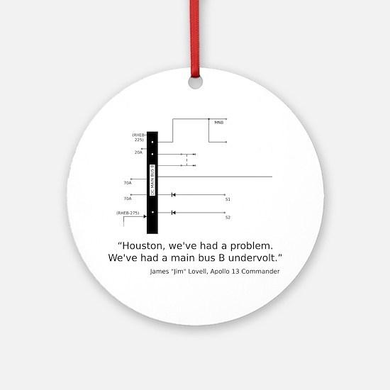 a13_smbus-apparel Round Ornament
