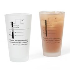 a13_smbus-apparel Drinking Glass