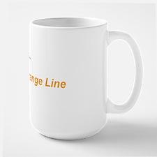 OrangeLineTxt Mug