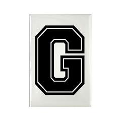 G Rectangle Magnet (10 pack)