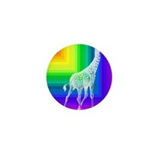 Allie_Rainbow_Giraffe copy Mini Button