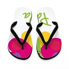 Paula-the-butterfly Flip Flops