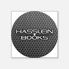 """Hasslein button2 Square Sticker 3"""" x 3"""""""