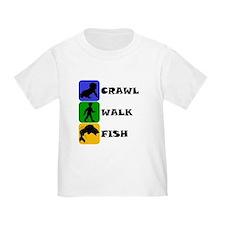Crawl Walk Fish T-Shirt