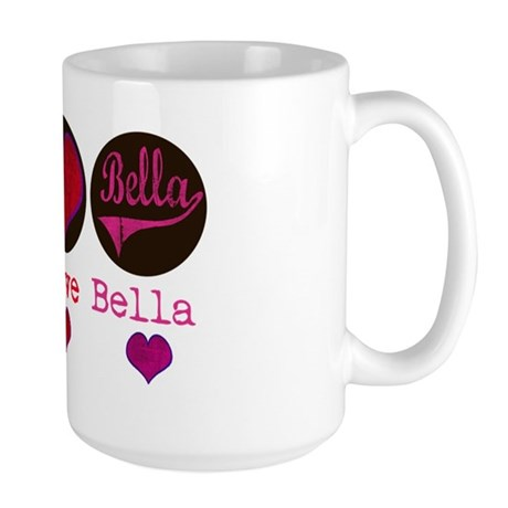 peace_love_bella Large Mug