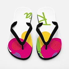 Rita-the-butterfly Flip Flops