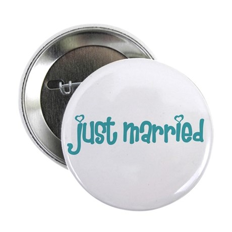 """just married 2.25"""" Button (100 pack)"""