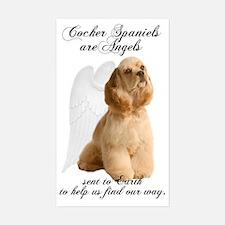 Angel Cocker Decal