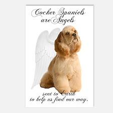 Angel Cocker Postcards (Package of 8)