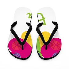 Eva-the-butterfly Flip Flops