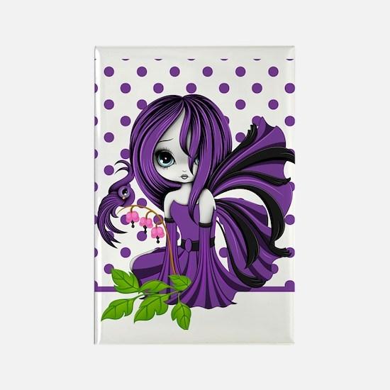Bleeding Heart Fae Purple iPad 2  Rectangle Magnet