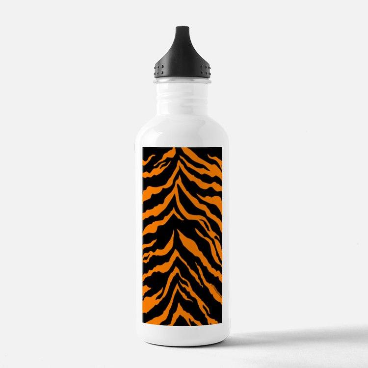kindlesleeveorangeblkt Water Bottle