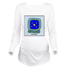 Lamat Long Sleeve Maternity T-Shirt