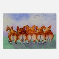 five walk away together s Postcards (Package of 8)