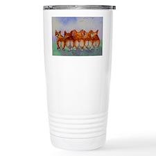 five walk away together saturat Travel Mug