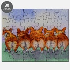 five walk away together saturated Puzzle