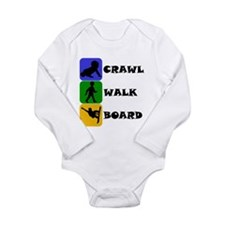Crawl Walk Board Body Suit