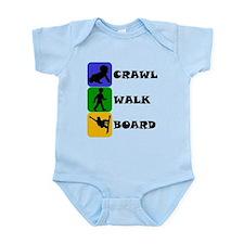 Crawl Walk Board Body Suit