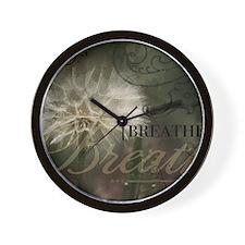1-Breathe Wall Clock
