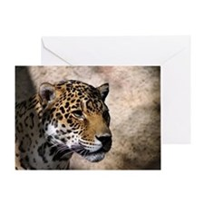 Jaguar 3 Greeting Card