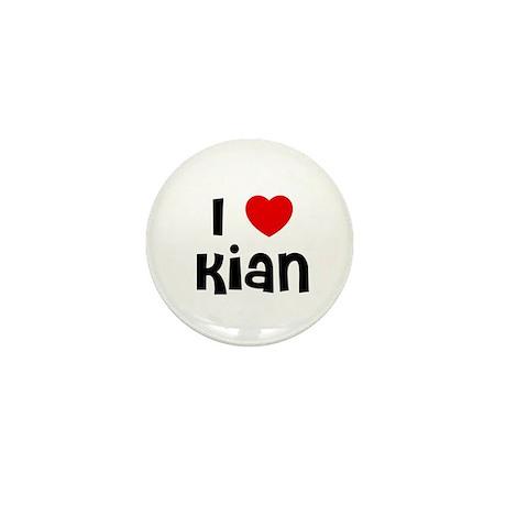 I * Kian Mini Button (10 pack)