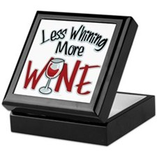 Less-Whining-More-Wine Keepsake Box