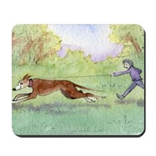 Morning run Mousepad