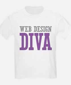 Web Design DIVA T-Shirt