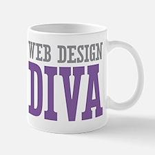 Web Design DIVA Mug