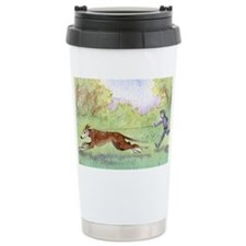 she took him for a run every mo Travel Mug
