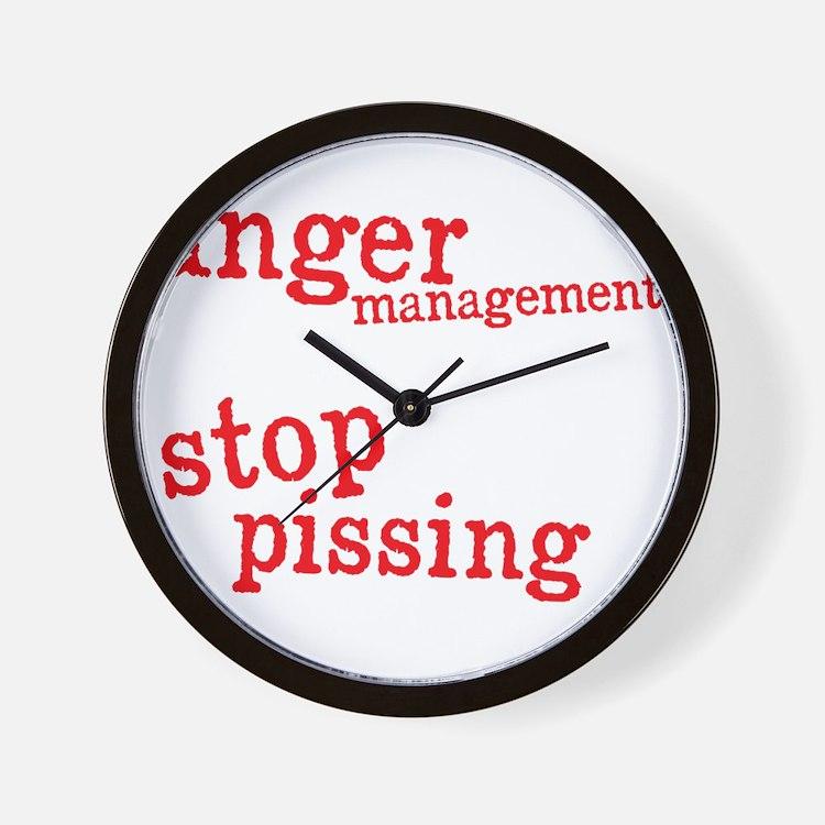 angermanagementdrk Wall Clock
